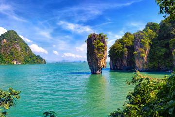 Excursion au départ de la baie de Phang Nga de Phuket en jonque...