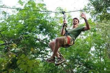 Jungle Xtrem Adventures Park mit Seilstrecke ab Phuket