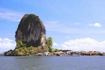Phang Nga Bay einschließlich Suwan Kuha-Tempel und James-Bond-Insel