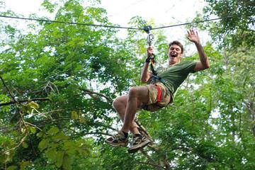 Recorrido de cuerdas en Jungle Xtrem...