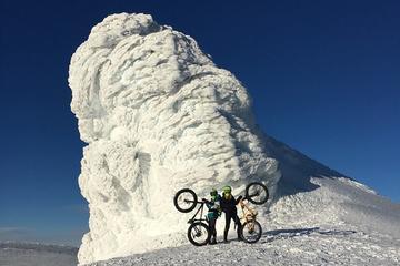 Meet Eyjafjallajokull - Fatbiking down Glaciated Volcano - Reykjavik departure