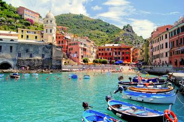 Cinque Terre Guided Tour by Minivan and Ferry-Boat from La Spezia