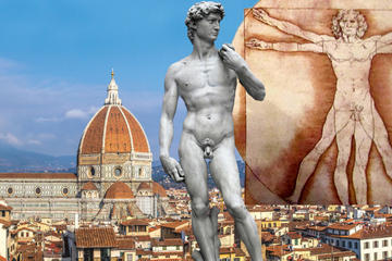Florence Uffizi Gallery and Chianti Wine Tasting Tour by Minivan from Pisa
