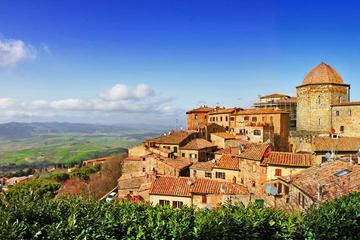 Volterra and Bocelli's Theatre Half Day Tour by Minivan from Lucca