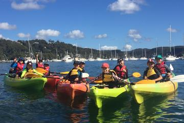Pittwater Kayaking Birthday Party