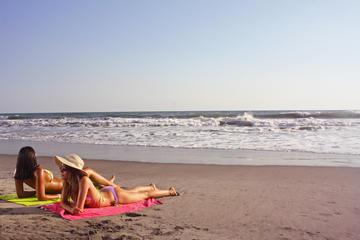 Relaxing Beach Escape during San Salvador Stopover