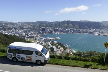 Hop-On-Hop-Off-Bus-Tour in Wellington