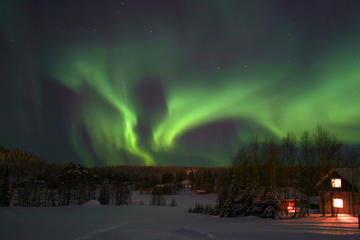 Lapland Northern Lights Safari by Snowmobile from Rovaniemi