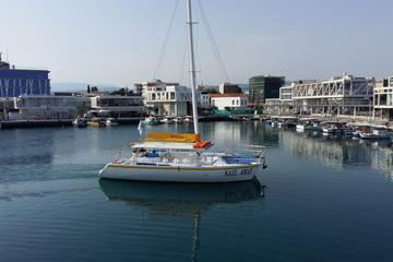 Full-Day Family Catamaran Cruise from Limassol with Lunch