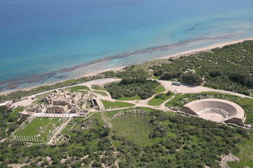 Salamis Ancient Kingdom and Famagusta from Pissouri