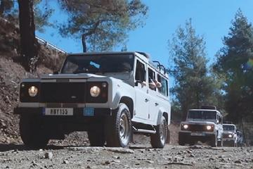 Troodos 4X4 Safari Tour from Protaras