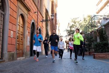 Excursão de corrida por Roma