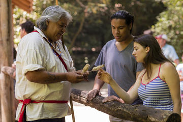 Day Trip Oconaluftee Indian Village Admission Including Guided Tour near Cherokee, North Carolina