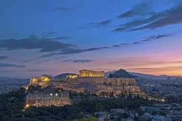 Athens airport to Athens city center hotels (Taxi, 1-3 passengers)