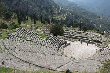 Delphi full day private tour (Taxi, 1-3 passengers)