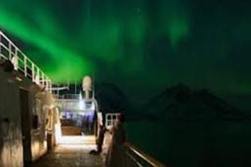 Crucero de la aurora boreal desde Tromso