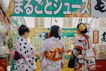 Asakusa und Kimono