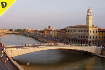 Secrets of Pisa with Rooftop sunset experience
