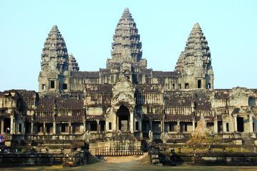 Día completo privado en el templo de Angkor y vista del atardecer