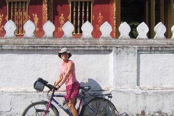 Excursion en vélo d'exploration des routes de campagnes de Luang...