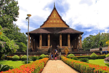 Excursion en vélo pour explorer Vientiane et les villages locaux