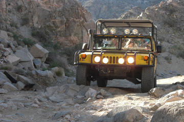 Day Trip San Andreas Fault Hummer Tour near Palm Springs, California
