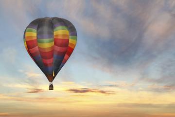 Survol d'Albuquerque en montgolfière...
