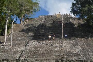 Calakmul Biosphere Reserve from Costa Maya