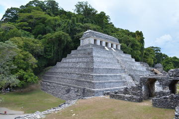 Palenque and Jungle Waterfalls from...