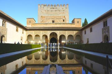 Visita a pie por la Alhambra, el Generalife y los Palacios Nazaríes...