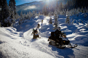 Snowmobile British Columbia Tour for Intermediate Riders