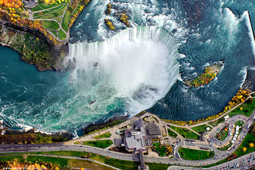 Day Trip Niagara Falls USA Tour-Maid of the Mist-Cave of the Winds-Whirlpool-Islands near Niagara Falls, New York