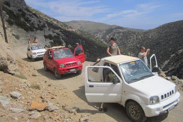 Preveli 4x4 Safari in Crete