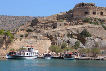 Elounda Village and Spinalonga Island Day Trip with Lunch
