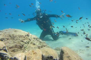 Cours de plongée en crete