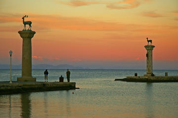 Rhodes by Night - Laterna