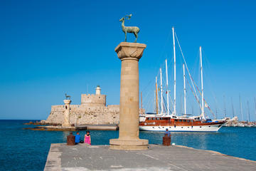 Rhodes Sightseeing Tour with Hotel Pickup and Drop-Off