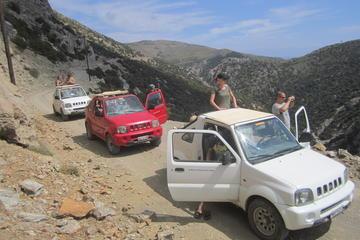 Safari en 4x4 en Crète, incluant la plage de Preveli et les gorges de...