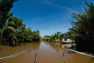 Authentisches Mekong-Delta-Erlebnis in kleiner Gruppe im Schnellboot