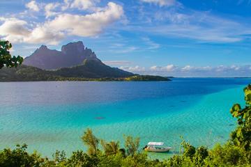 Bootstour durch die Lagune von Bora Bora und Fahrt im Allradfahrzeug