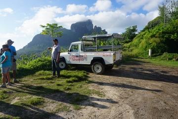 Bora-bora Tour im Geländewagen