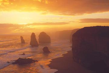 Experiência ao pôr do sol para grupos pequenos na Great Ocean Road...