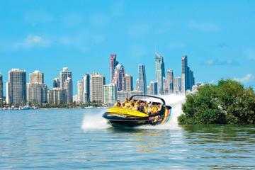 Sortie en jet boat à Gold Coast au départ de Main Beach