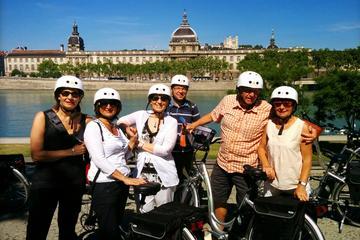 Tour gastronomique en vélo électrique à Lyon