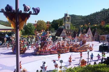 Everland or Lotte World Theme Park...