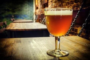 Belgische bierproeverij in Brussel