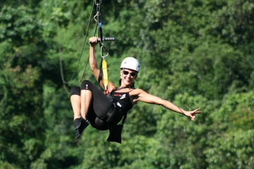 Falmouth Shore Excursion: Zipline Adventure