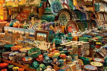 Experiência de compras turca saindo de Istambul