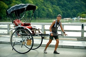"""Recorrido en """"rickshaw"""" por Kioto"""