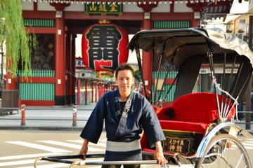 Tour di Tokyo in risciò da Asakusa